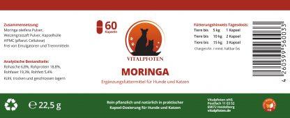 Futterergänzung Moringa Weizengrassaft