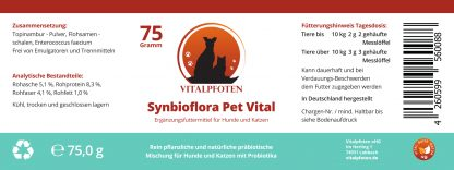 Inhalt Synbioflora Zutaten Inhaltsstoffe Topinambur
